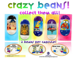 "2"" CRAZY BEAN DISPLAY"