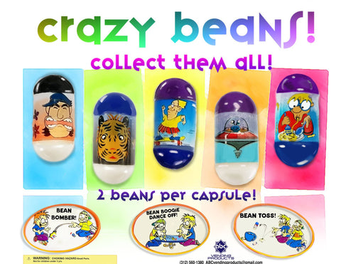 "2"" CRAZY BEANS! - 250 COUNT"