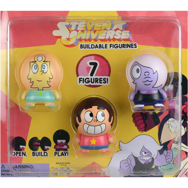 "2"" STEVEN UNIVERSE BUILDABLE FIGURES DISPLAY"