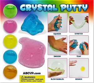 "2"" CRYSTAL PUTTY - 250CT"