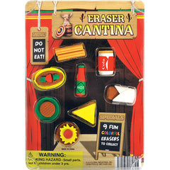"1"" CANTINA ERASERS DISPLAY"