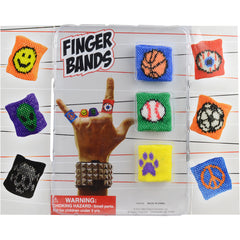 "2"" FINGER BANDS DISPLAY"