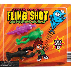"2"" FLING SHOT ANIMALS DISPLAY"