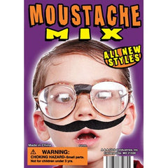 "1"" MUSTACHE MIX DISPLAY"
