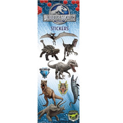 JURASSIC WORLD STICKERS DISPLAY