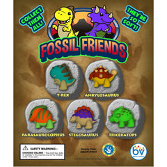 "1"" FOSSIL FRIENDS DISPLAY"