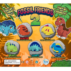 "2"" FOSSIL FRIENDS 2 DISPLAY"