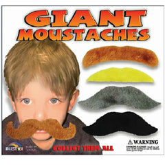 "2"" GIANT MOUSTACHES DISPLAY"