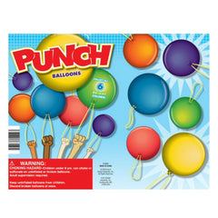 "2"" PUNCH BALLOONS DISPLAY"