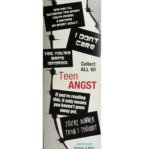TEEN ANGST STICKERS