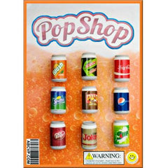 "2"" POP SHOP SODA ERASERS DISPLAY"