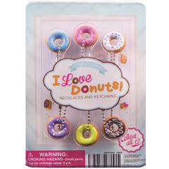 "1"" I LOVE DONUTS DISPLAY"