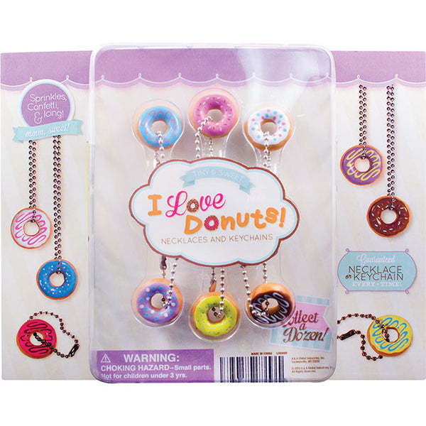 "2"" I LOVE DONUTS DISPLAY"