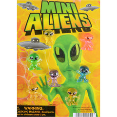 "1"" MINI ALIENS DISPLAY"