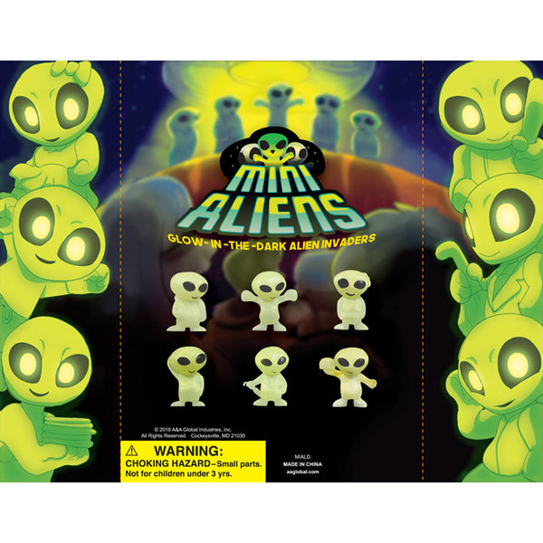 GLOW-IN-THE-DARK ALIENS - 250 COUNT
