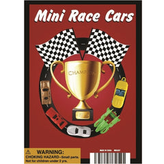 "1"" MINI RACE CARS DISPLAY"