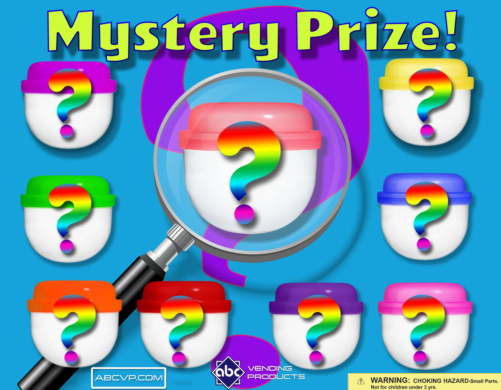 "2"" MYSTERY PRIZE MIX - 250 COUNT"