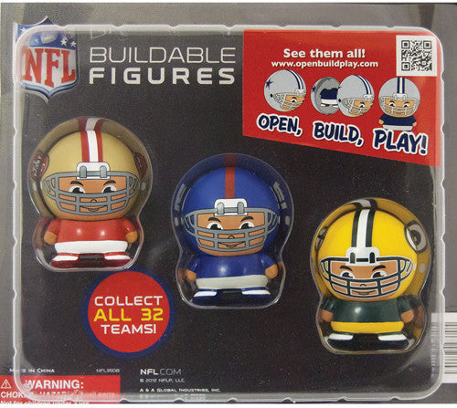 "2"" NFL BUILDABLES DISPLAY"