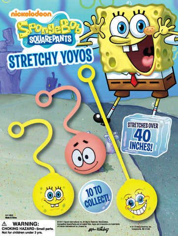 "2"" SPONGEBOB YOYO'S DISPLAY"
