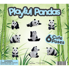 "2"" PLAYFUL PANDAS DISPLAY"