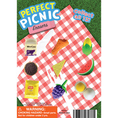 "1"" PERFECT PICNIC ERASERS DISPLAY"