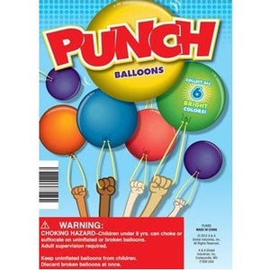 "1"" PUNCH BALLOONS - 250 COUNT"