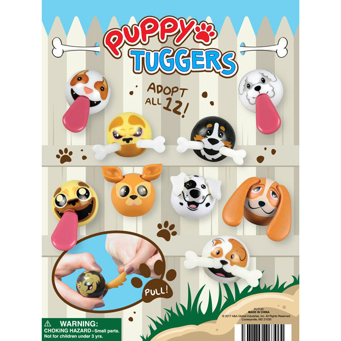 "2"" PUPPY TUGGERS - 250 COUNT"