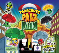"DISPLAY 2"" Parachute Palz: Alien Invasion Edition"