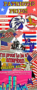 PATRIOT PRIDE STICKERS - 300CT
