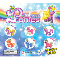 "2"" PRINCESS PONIES DISPLAY"