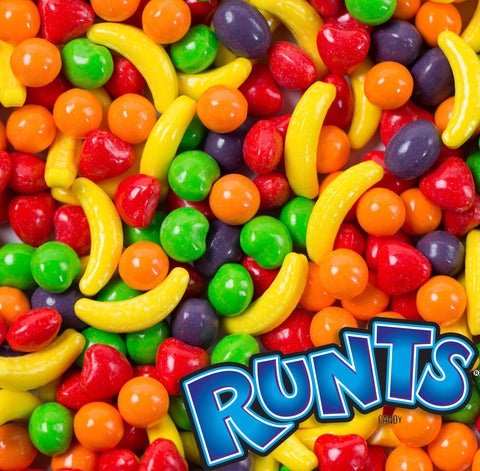 RUNTS CANDY - 30 POUND CASE