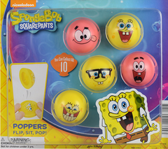 "2"" SPONGEBOB POPPERS DISPLAY"