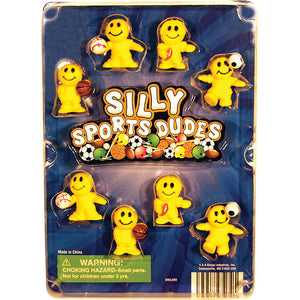 "1"" SILLY SPORTS DUDES - 250 COUNT"