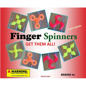 "2"" FIDGET FINGER SPINNERS - 250 COUNT"
