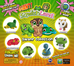 "Display for GIANT SQWISHLAND SWAMP in 2"" Capsules"