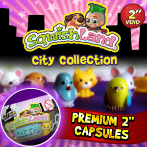 "2"" SQWISHLAND CITY COLLECTION - 250CT"