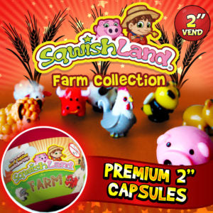 "2"" SQWISHLAND FARM COLLECTION - 250CT"