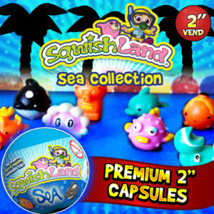 SquishLand Sea Collection - 250CT