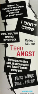 TEEN ANGST STICKERS - 300CT