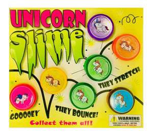 "2"" UNICORN SLIME STRETCHY - 250 COUNT"