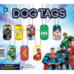 "2"" DC COMICS DOG TAGS DISPLAY"