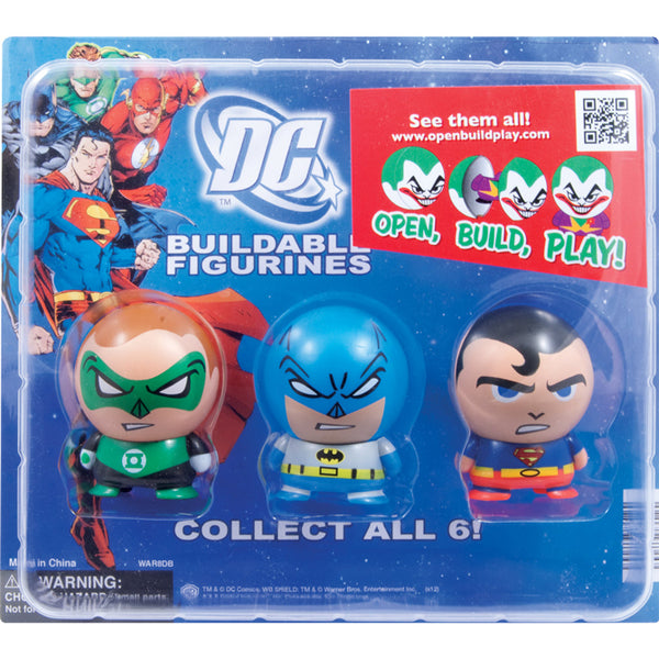 "2"" DC COMICS BUILDABLES - 250 COUNT"