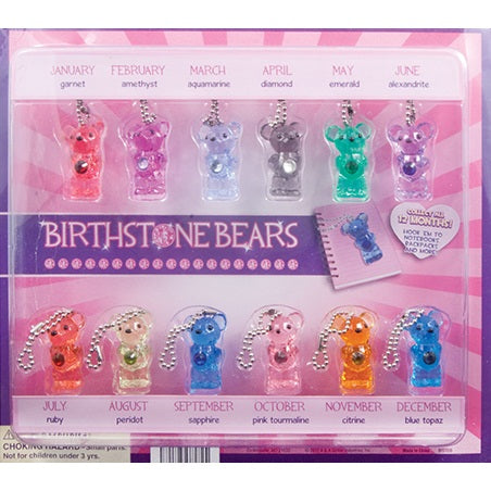 "2"" BIRTHSTONE BEARS - 250 COUNT"