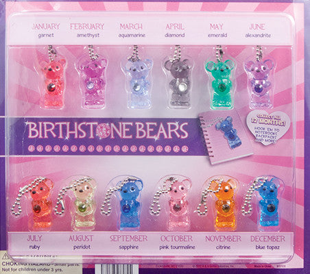 "2"" BIRTHSTONE BEARS DISPLAY"