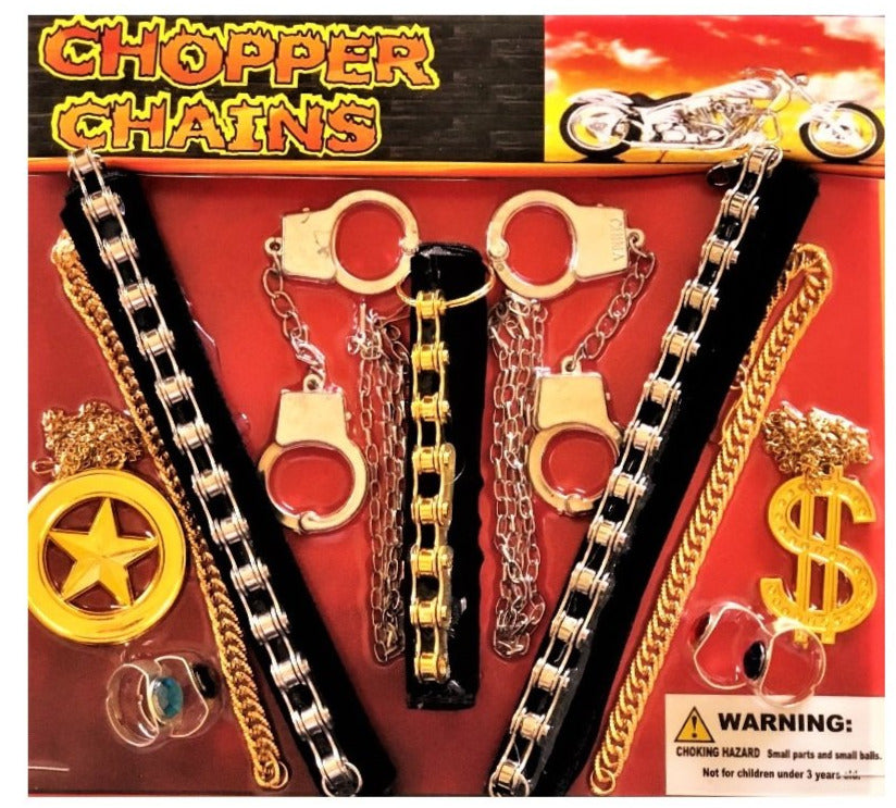 "2"" CHOPPER CHAINS JEWELRY - 250 COUNT"