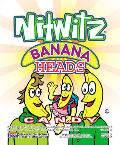 OAKLEAF BANANA HEADS CANDY