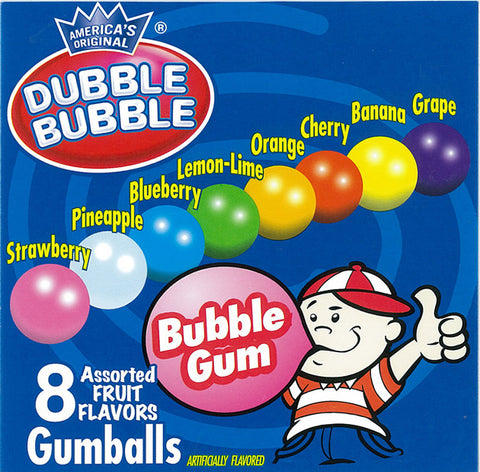 CONCORD DUBBLE BUBBLE ASSORTED GUMBALLS