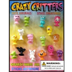 "1"" CRAZY CRITTERS DISPLAY"