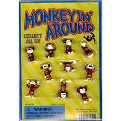 "1"" MONKEY'N' AROUND DISPLAY"