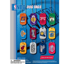 "2"" NBA DOG TAGS DISPLAY"